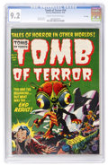 Golden Age (1938-1955):Horror, Tomb of Terror #14 File Copy (Harvey, 1954) CGC NM- 9.2 Cream tooff-white pages....