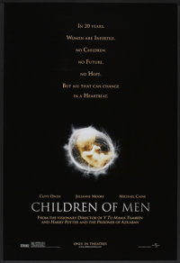 "Children of Men (Universal, 2006). One Sheet (27"" X 40"") DS. Thriller"