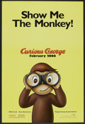 "Movie Posters:Animated, Curious George (Universal, 2006). One Sheet (27"" X 40"") DS Advance.Animated.. ..."
