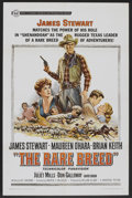"Movie Posters:Western, The Rare Breed (Universal, 1966). One Sheet (27"" X 41""). Western.. ..."
