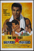 "Movie Posters:Sports, The Greatest (Columbia, 1977). One Sheet (27"" X 41"") Flat-Folded. Sports.. ..."