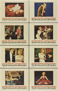"""The Prince and the Showgirl (Warner Brothers, 1957). Lobby Card Set of 8 (11"""" X 14""""). ... (Total: 8 Items)"""