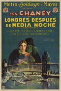 "Movie Posters:Horror, London After Midnight (MGM, 1927). Argentinean Poster (29"" X 43"")....."