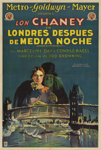 "London After Midnight (MGM, 1927). Argentinean Poster (29"" X 43"")"