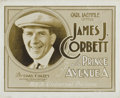 """Movie Posters:Sports, The Prince of Avenue A (Universal, 1920). Title Lobby Card (8"""" X 10"""").. ..."""