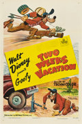 "Movie Posters:Animated, Two Weeks Vacation (RKO, 1952). One Sheet (27"" X 41"").. ..."