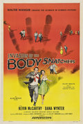 "Movie Posters:Science Fiction, Invasion of the Body Snatchers (Allied Artists, 1956). One Sheet (27"" X 41"").. ..."