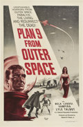 "Movie Posters:Science Fiction, Plan 9 from Outer Space (DCA, 1956). One Sheet (27"" X 41"").. ..."