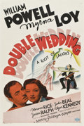 "Movie Posters:Comedy, Double Wedding (MGM, 1937). One Sheet (27"" X 41"") Style D.. ..."
