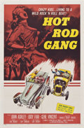 """Movie Posters:Cult Classic, Hot Rod Gang (American International, 1958). One Sheet (27"""" X 41"""").. ..."""