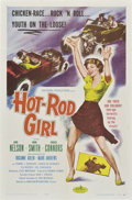 "Movie Posters:Bad Girl, Hot Rod Girl (American International, 1956). One Sheet (27"" X41"").. ..."
