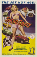 """Movie Posters:Crime, Speed Crazy (Allied Artists, 1959). One Sheet (27"""" X 41"""").. ..."""