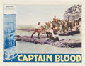 "Movie Posters:Adventure, Captain Blood (Warner Brothers, 1935). Lobby Card (11"" X 14"").. ..."