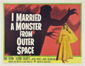 "Movie Posters:Science Fiction, I Married a Monster from Outer Space (Paramount, 1958). Half Sheet(22"" X 28"").. ..."