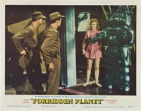 """Forbidden Planet (MGM, 1956). Lobby Cards (4) (11"""" X 14""""). ... (Total: 4 Items)"""