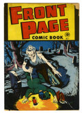 Golden Age (1938-1955):Horror, Front Page Comic Book #1 (Harvey, 1945) Condition: GD-....