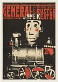 """Movie Posters:Comedy, The General (United Artists, 1950s). Polish One Sheet (23"""" X 33"""")....."""
