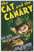 "Movie Posters:Horror, The Cat and the Canary (Paramount, 1939). One Sheet (27"" X 41"")....."