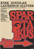 "Movie Posters:Adventure, Spartacus (CWF, 1970). Polish One Sheet (23"" X 32.75"").. ..."