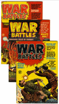 Golden Age (1938-1955):War, War Battles #1-7 and 9 File Copy Group (Harvey, 1952-53) Condition:Average VF.... (Total: 8 Comic Books)