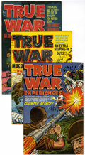 Golden Age (1938-1955):War, True War Experiences #1-4 File Copy Group (Harvey, 1952) Condition:Average VF/NM.... (Total: 4 Comic Books)