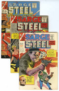 Silver Age (1956-1969):Mystery, Sarge Steel Group (Charlton, 1965-66) Condition: Average VF....(Total: 6 Comic Books)