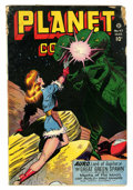 Golden Age (1938-1955):Science Fiction, Planet Comics #47 (Fiction House, 1947) Condition: GD-....