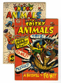 Golden Age (1938-1955):Funny Animal, Frisky Animals #51 and 53 Group (Star Publications, 1953)Condition: Average VG+.... (Total: 2 Comic Books)