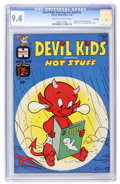 Silver Age (1956-1969):Cartoon Character, Devil Kids Starring Hot Stuff #4 File Copy (Harvey, 1963) CGC NM 9.4 Cream to off-white pages....