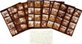 Movie/TV Memorabilia:Photos, Jilly Rizzo & Others Contact Sheets.... (Total: 8 Items)