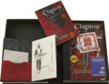 Music Memorabilia:Autographs and Signed Items, Eric Clapton Signed Limited Edition 24 Nights (GenesisPublications, Ltd., 1981)....