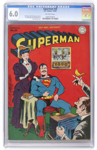 Superman #35 (DC, 1945) CGC FN 6.0 Off-white pages