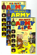 Silver Age (1956-1969):Humor, Sad Sack's Army Life Parade File Copy Group (Harvey, 1964-76) Condition: Average NM-.... (Total: 52 Comic Books)