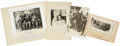 Photography:Cabinet Photos, [Western Crime] Dalton Gang, Cole Younger, Wild Bunch Four Photos,including: a postmortem image of the Dalton Gang, Bill Po...