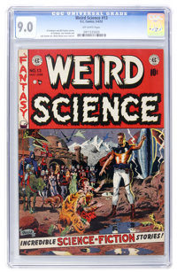 Weird Science #13 (EC, 1952) CGC VF/NM 9.0 Off-white pages