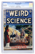 Golden Age (1938-1955):Science Fiction, Weird Science #14 (EC, 1952) CGC VF 8.0 Off-white pages....