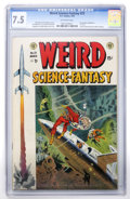 Golden Age (1938-1955):Science Fiction, Weird Science-Fantasy #23 (EC, 1954) CGC VF- 7.5 Off-whitepages....
