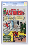 Silver Age (1956-1969):Superhero, Tales to Astonish #45 (Marvel, 1963) CGC VF/NM 9.0 Off-white to white pages....