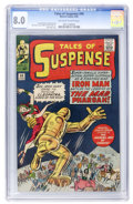 Silver Age (1956-1969):Superhero, Tales of Suspense #44 (Marvel, 1963) CGC VF 8.0 Off-white to white pages....