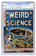 Golden Age (1938-1955):Science Fiction, Weird Science #16 (EC, 1952) CGC VF 8.0 Off-white pages....