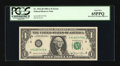 Error Notes:Miscellaneous Errors, Fr. 1912-H $1 1981A Federal Reserve Note. PCGS Gem New 65PPQ.. ...