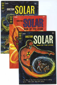 Doctor Solar Group (Gold Key, 1965-69) Condition: Average VF+.... (Total: 11 Comic Books)