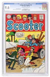Swing with Scooter #16 Oakland pedigree (DC, 1968) CGC NM+ 9.6 Off-white to white pages