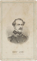 "Photography:CDVs, Robert E. Lee, Carte de Visite, 2.5"" x 4"". The image is engraved and produced by L. Prang & Co...."