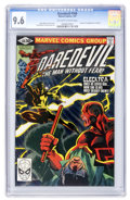 Modern Age (1980-Present):Superhero, Daredevil #168 (Marvel, 1981) CGC NM+ 9.6 Off-white to white pages....