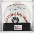 Autographs:Baseballs, Willie Mays Single Signed Baseball, PSA Mint 9....