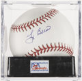 Autographs:Baseballs, Yogi Berra Single Signed Baseball PSA Mint+ 9.5. ...