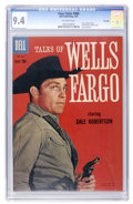 Silver Age (1956-1969):Western, Four Color #968 Tales of Wells Fargo - File Copy (Dell, 1959) CGC NM 9.4 Off-white pages....