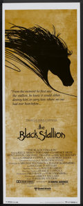 "Movie Posters:Adventure, The Black Stallion (United Artists, 1979). Insert (14"" X 36"").Adventure.. ..."