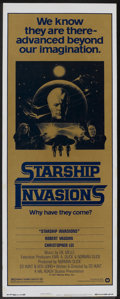 """Movie Posters:Science Fiction, Starship Invasions (Warner Brothers, 1977). Insert (14"""" X 36""""). Science Fiction.. ..."""